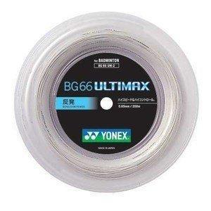 商い YONEX 本日の目玉 ヨネックス BG66アルティマックス ULTIMAX バドミントンガット BG66UM-2 200mロールガット