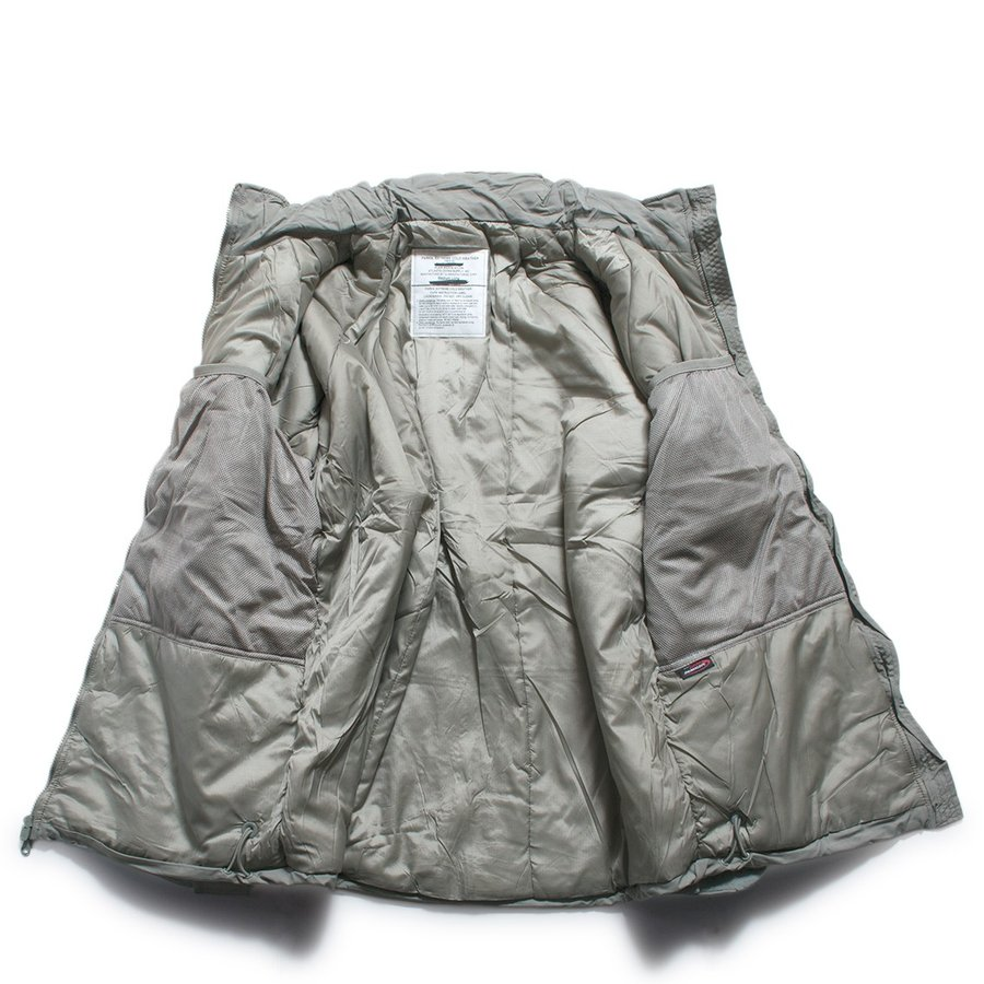ECWCS GEN3 LEVEL7 PRIMALOFT PARKA プリマロフト パーカー グレー (DEAD STOCK)|hartleystore|03