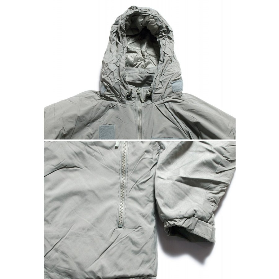 ECWCS GEN3 LEVEL7 PRIMALOFT PARKA プリマロフト パーカー グレー (DEAD STOCK)|hartleystore|04