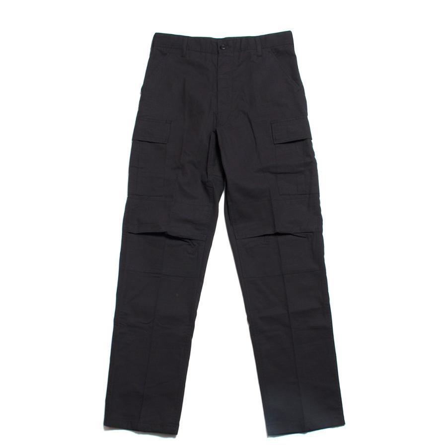 ROTHCO ロスコ ミリタリー カーゴパンツ RIP-STOP BDU PANT ブラック|hartleystore|03
