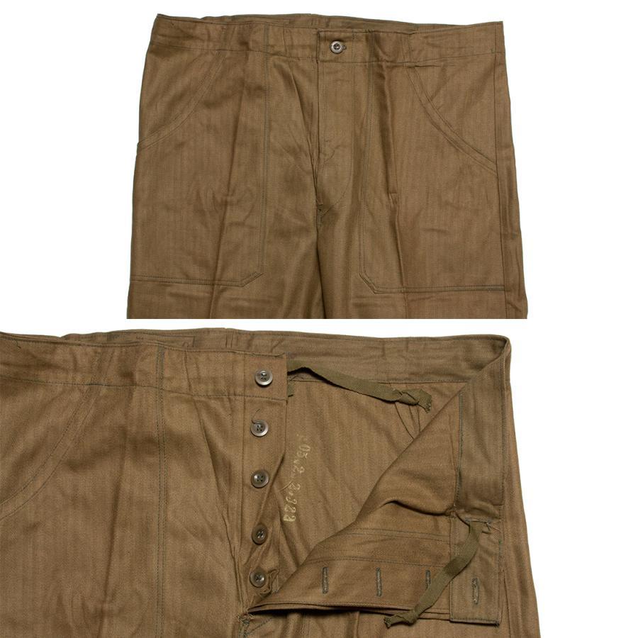 チェコ軍 Czech Mil Cook Pants コックパンツ ヘリンボーン生地 (DEAD STOCK)|hartleystore|03