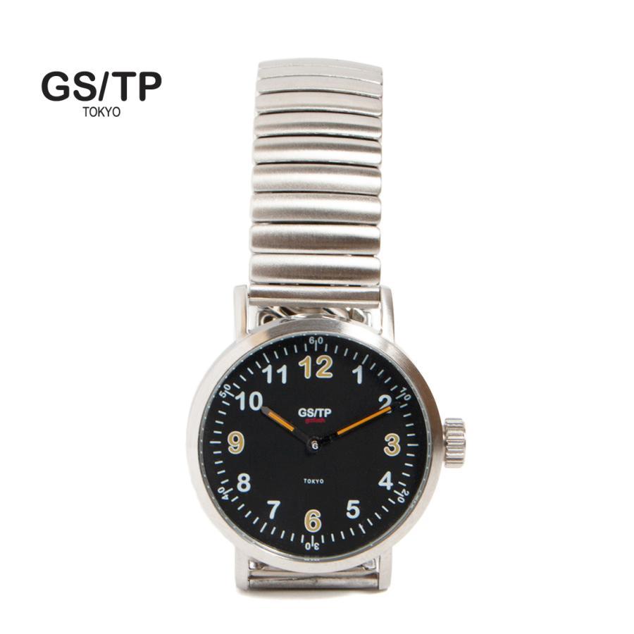GS/TP ジーエスティーピー 腕時計 ミリタリーウォッチ GOLIATH RECORDER DIAL ブラックダイアル|hartleystore
