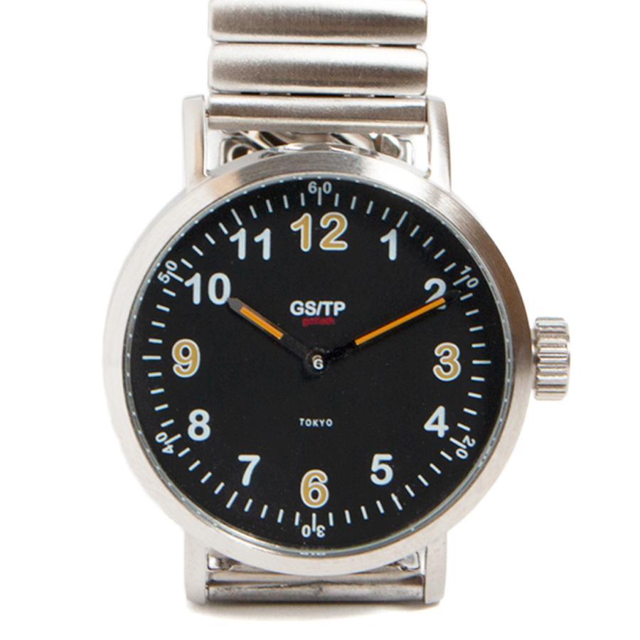GS/TP ジーエスティーピー 腕時計 ミリタリーウォッチ GOLIATH RECORDER DIAL ブラックダイアル|hartleystore|02
