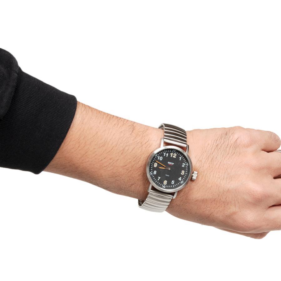 GS/TP ジーエスティーピー 腕時計 ミリタリーウォッチ GOLIATH RECORDER DIAL ブラックダイアル|hartleystore|07