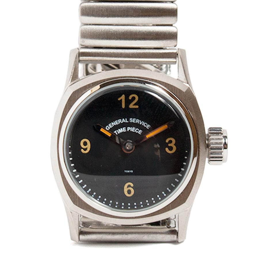 GS/TP ジーエスティーピー 腕時計 ミリタリーウォッチ BOTTLETOP DIAL ブラックダイアル|hartleystore|02
