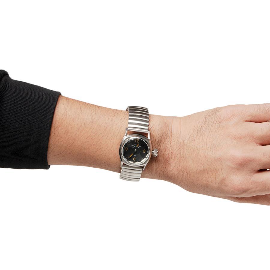 GS/TP ジーエスティーピー 腕時計 ミリタリーウォッチ BOTTLETOP DIAL ブラックダイアル|hartleystore|07