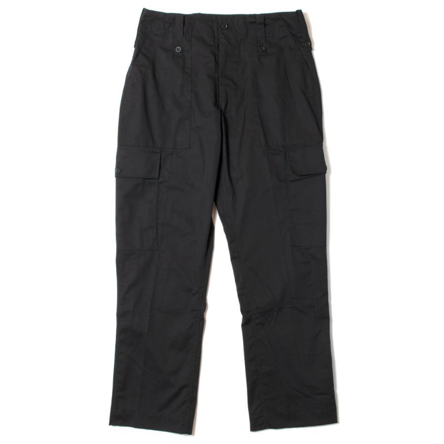 British Army Light Weight Trousers Black イギリス軍 カーゴパンツ ブラック|hartleystore