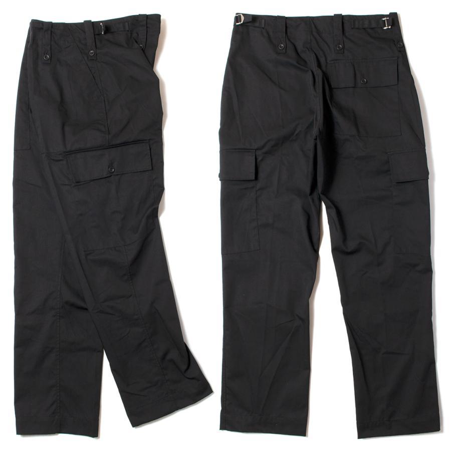British Army Light Weight Trousers Black イギリス軍 カーゴパンツ ブラック|hartleystore|02