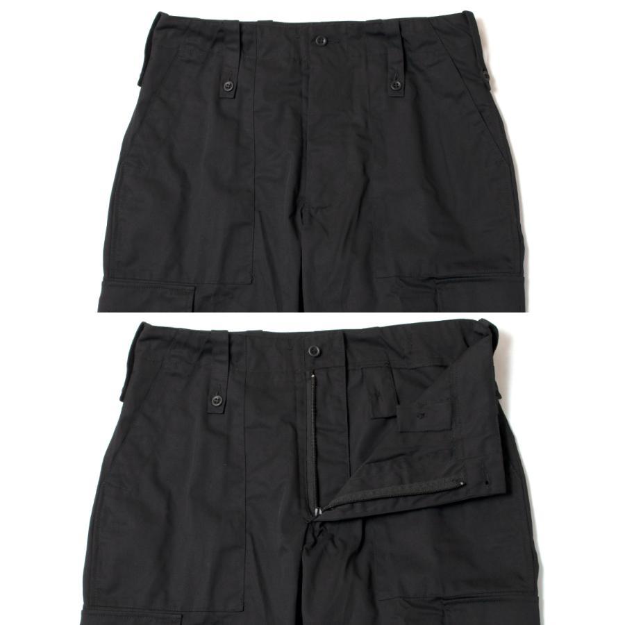 British Army Light Weight Trousers Black イギリス軍 カーゴパンツ ブラック|hartleystore|03