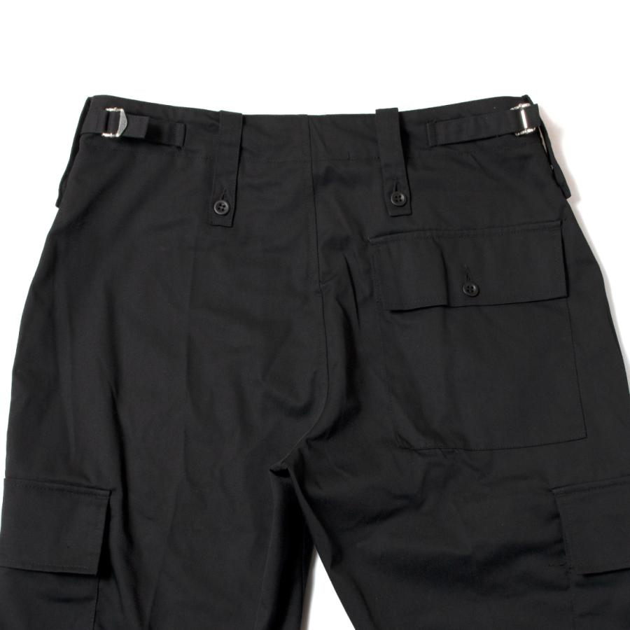 British Army Light Weight Trousers Black イギリス軍 カーゴパンツ ブラック|hartleystore|05