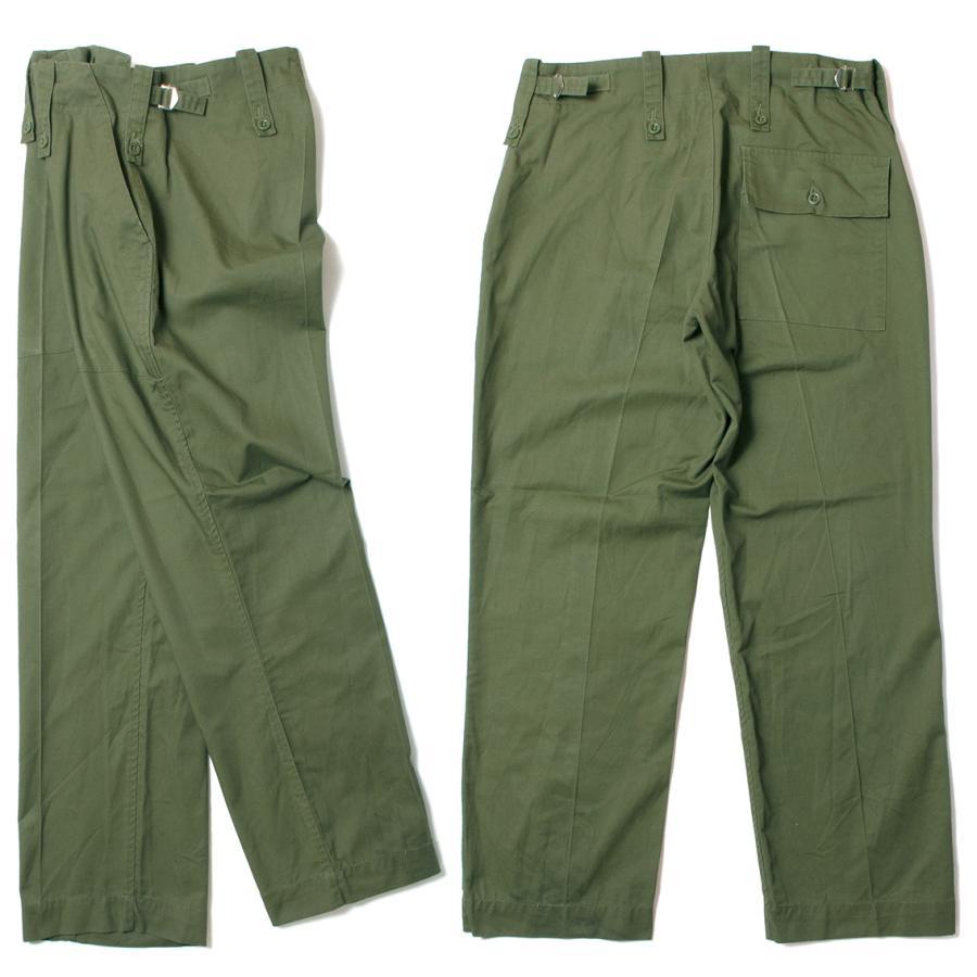 British Army Light Weight Fatigue Pants イギリス軍 ファティーグパンツ オリーブ (DEAD STOCK)|hartleystore|02