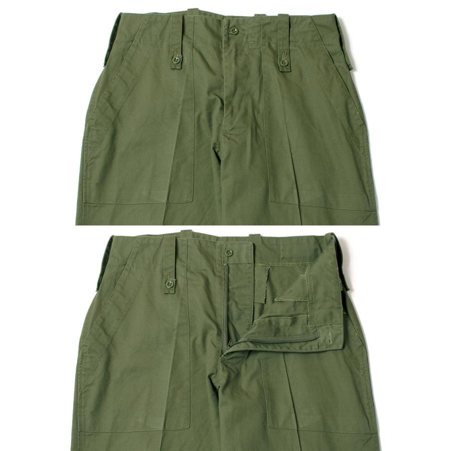 British Army Light Weight Fatigue Pants イギリス軍 ファティーグパンツ オリーブ (DEAD STOCK)|hartleystore|03