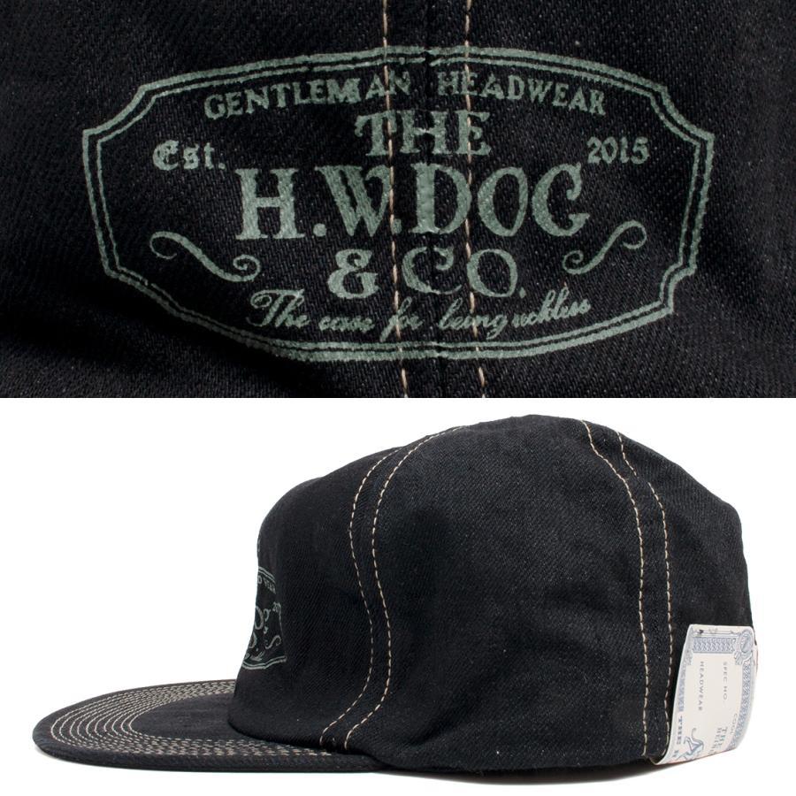 THE H.W.DOG&CO. ドッグアンドコー トラッカー キャップ 帽子 ブラックインディゴ hartleystore 02