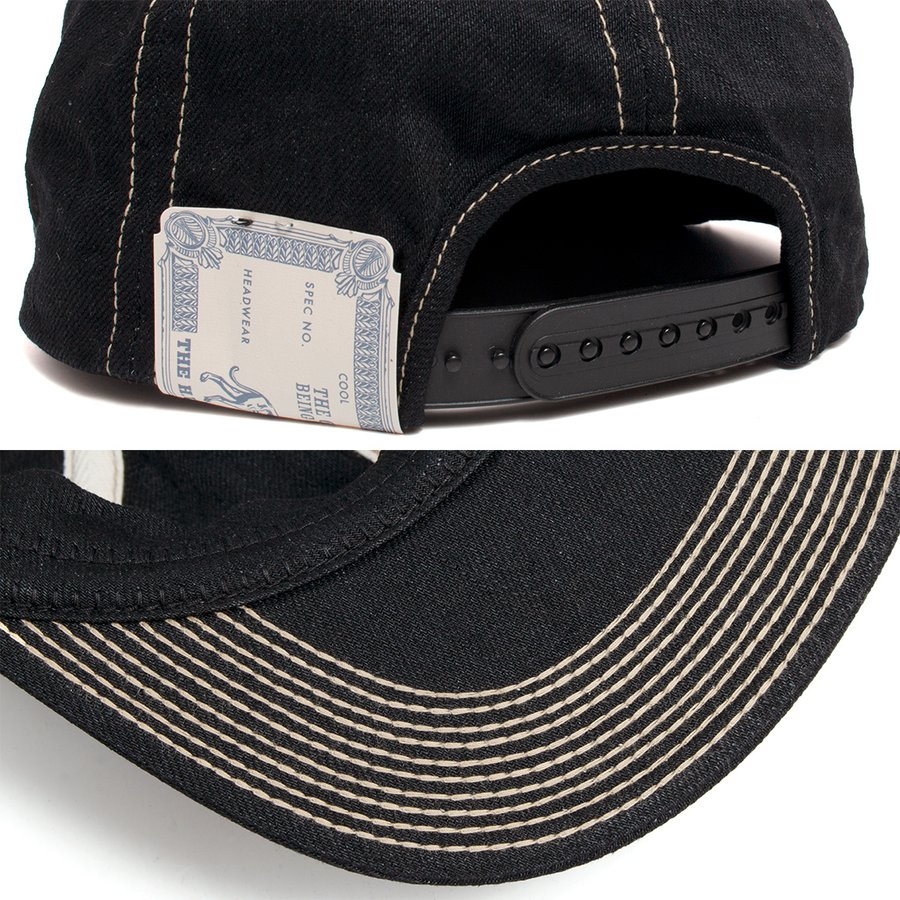 THE H.W.DOG&CO. ドッグアンドコー トラッカー キャップ 帽子 ブラックインディゴ hartleystore 03