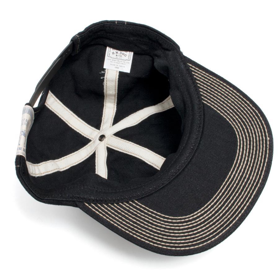 THE H.W.DOG&CO. ドッグアンドコー トラッカー キャップ 帽子 ブラックインディゴ hartleystore 04