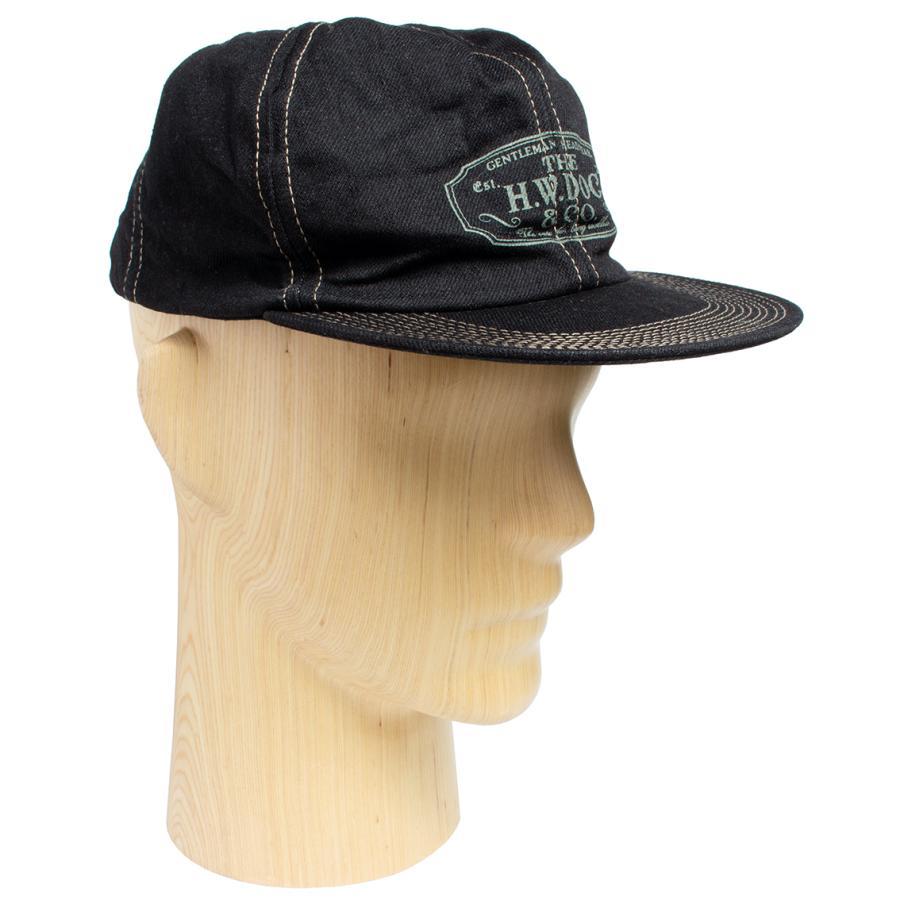 THE H.W.DOG&CO. ドッグアンドコー トラッカー キャップ 帽子 ブラックインディゴ hartleystore 06