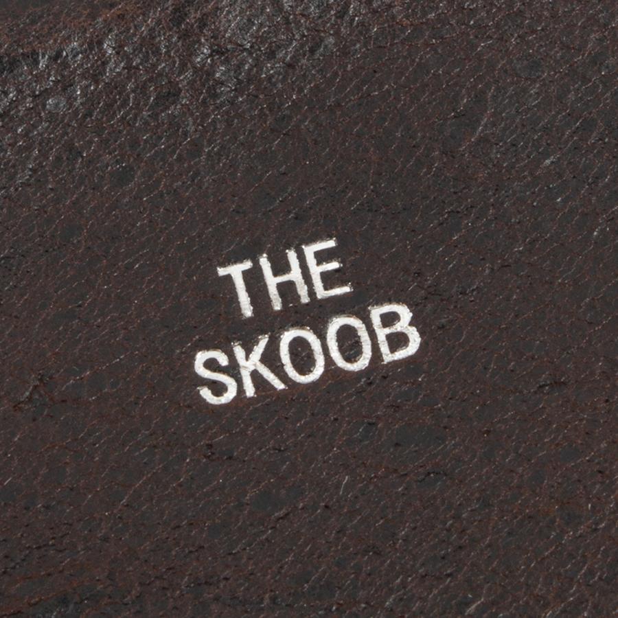 THE SKOOB スクーブ クードゥー レザーウォレット マルチパース KUDU MULTI WALLET 日本製|hartleystore|06
