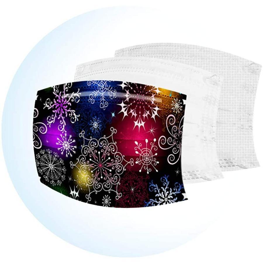 マスク 子供用 使い捨てマスク 50枚 柄豊富 宇宙 感謝祭 クリスマス マスク 可愛い カラー 使い捨て 女の子 男の子 マスク 高密度フィルター素 haru-sakura 04
