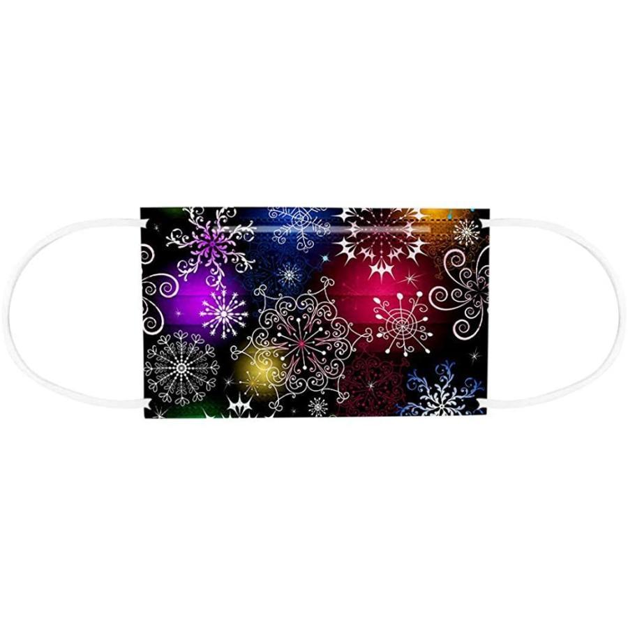 マスク 子供用 使い捨てマスク 50枚 柄豊富 宇宙 感謝祭 クリスマス マスク 可愛い カラー 使い捨て 女の子 男の子 マスク 高密度フィルター素 haru-sakura 06