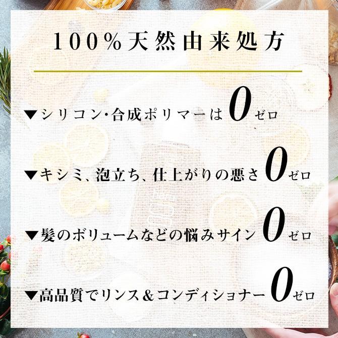 シャンプー haru 100%天然由来の「kurokamiスカルプ」。ノンシリコン&リンス・コンディショナー不要。ハリ・コシUP(400ml 約2ヶ月分)|haru-shop|04