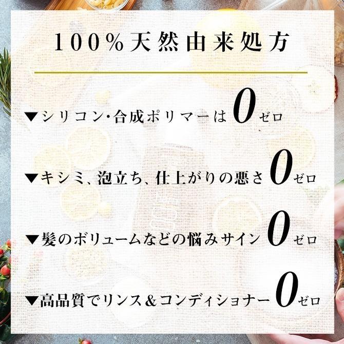 シャンプー&アウトバストリートメント haru  【15%OFF】 100%天然由来「くろかみ基礎セット」|haru-shop|05