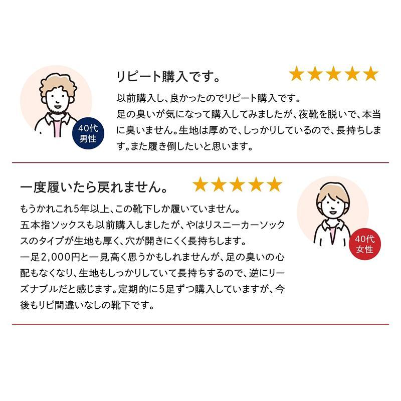 消臭 靴下 五本指フットカバーソックス/パンプス靴下 足の臭い対策 foota|haruchisyoutengai|07