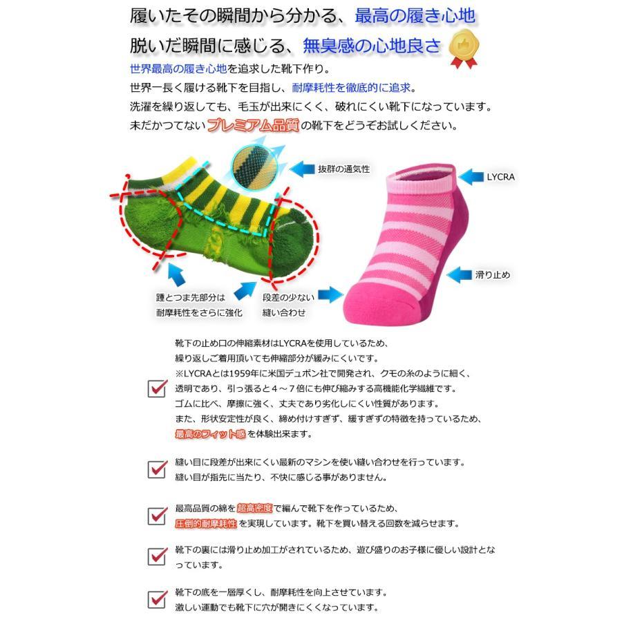消臭 靴下 キッズソックス(スニーカー丈) 足の臭い対策 foota haruchisyoutengai 02