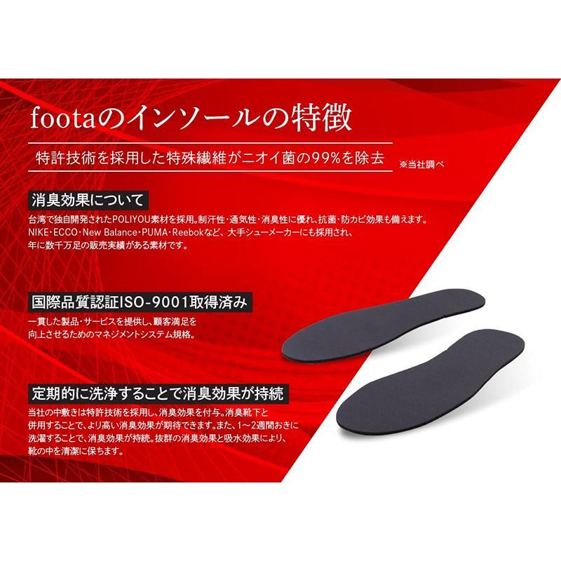 消臭 インソール(中敷き) 足の臭い対策 foota|haruchisyoutengai|02