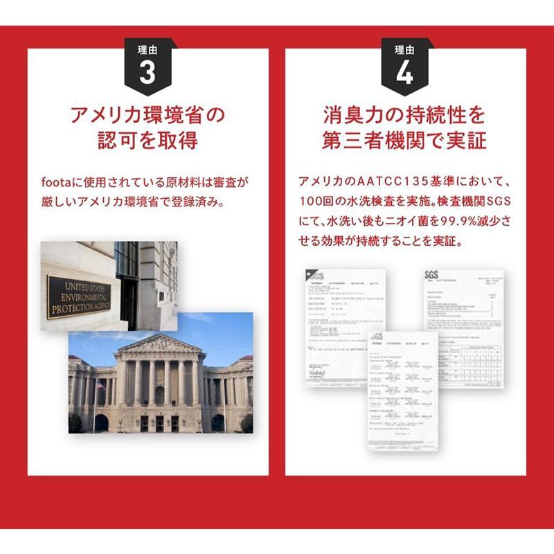 消臭 インソール(中敷き) 足の臭い対策 foota|haruchisyoutengai|10