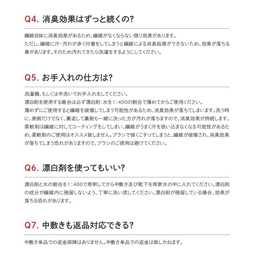 消臭 3Dインソール(中敷き) 足の臭い対策 foota|haruchisyoutengai|15