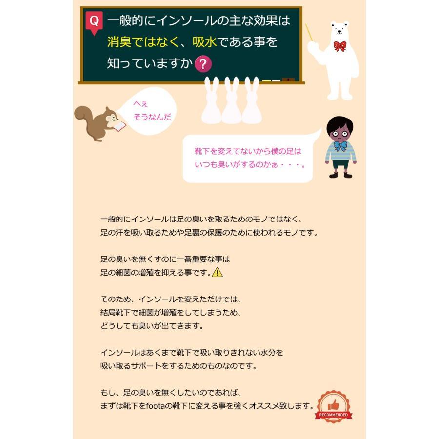 消臭 3Dインソール(中敷き) 足の臭い対策 foota|haruchisyoutengai|06