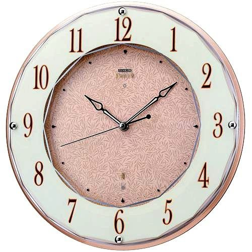 送料無料 SEIKO CLOCK EMBLEM(セイコークロック エンブレム) 電波掛け時計 HS524A