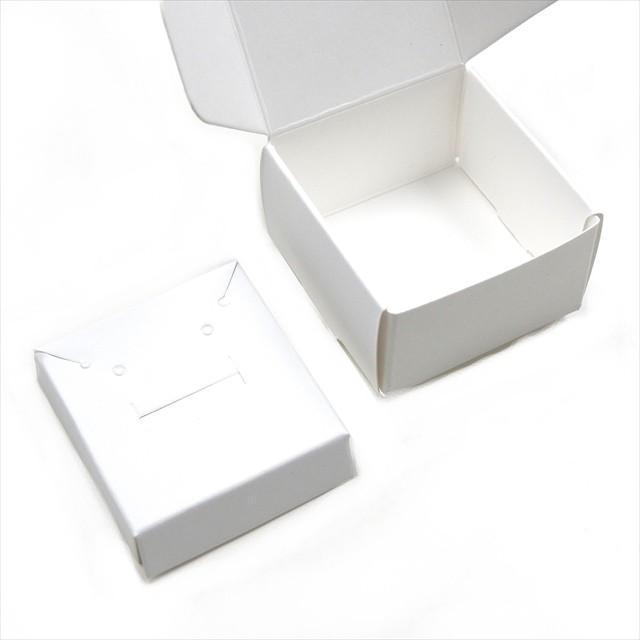 アクセサリーボックス 10枚セット 箱 折りたたみ ジュエリー ピアス イヤリング ギフト ラッピング 紙箱 折り畳み 梱包 白 黒 茶 ホワイト ブラック ブラウン|haruzakka|03