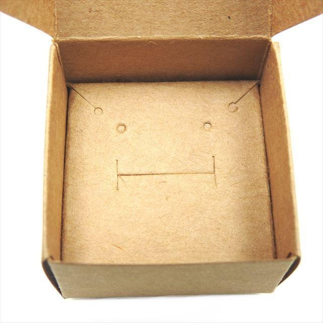 アクセサリーボックス 10枚セット 箱 折りたたみ ジュエリー ピアス イヤリング ギフト ラッピング 紙箱 折り畳み 梱包 白 黒 茶 ホワイト ブラック ブラウン|haruzakka|04