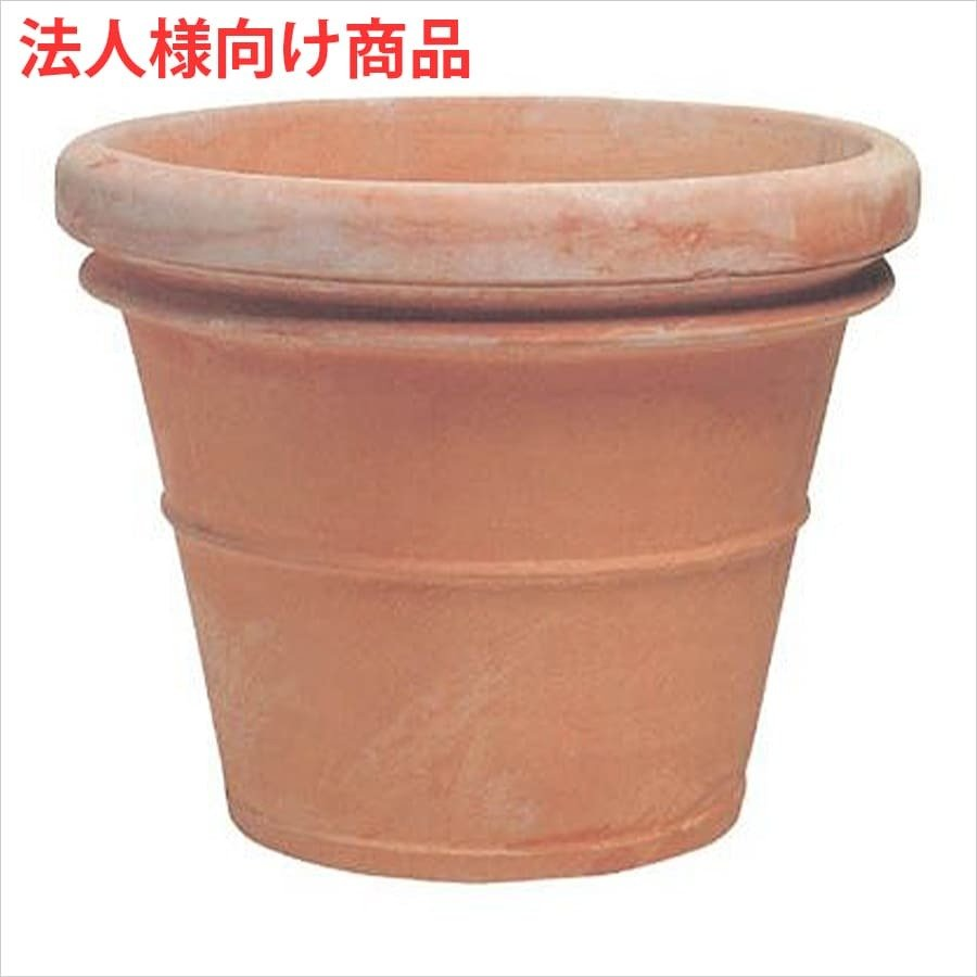 プランター 植木鉢 鉢 おしゃれ 大型 テラコッタ製 ベノッチ リムポット 236L 大型·底穴あり