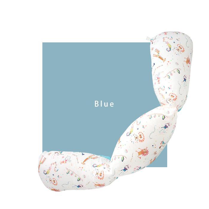抱き枕 ロングクッション CIRCUS-サーカス-(Aタイプ) ダブルガーゼ 日本製 洗える 抱き枕 授乳クッション 妊婦 授乳まくら マタニティ 赤ちゃん お座り 練習|hashkude|05