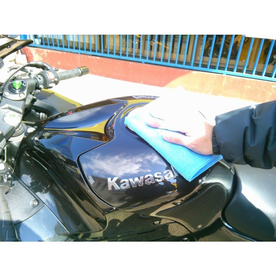 バイク専用コーティング剤【ハイブリッドコートZEROライダー】(1〜3台分)|hassui-dojyo|04