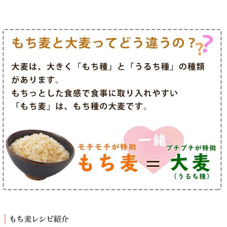 もち麦 たっぷり ダイエット 美容  もち麦 600g メール便 送料無料|hatasyou-ten|03