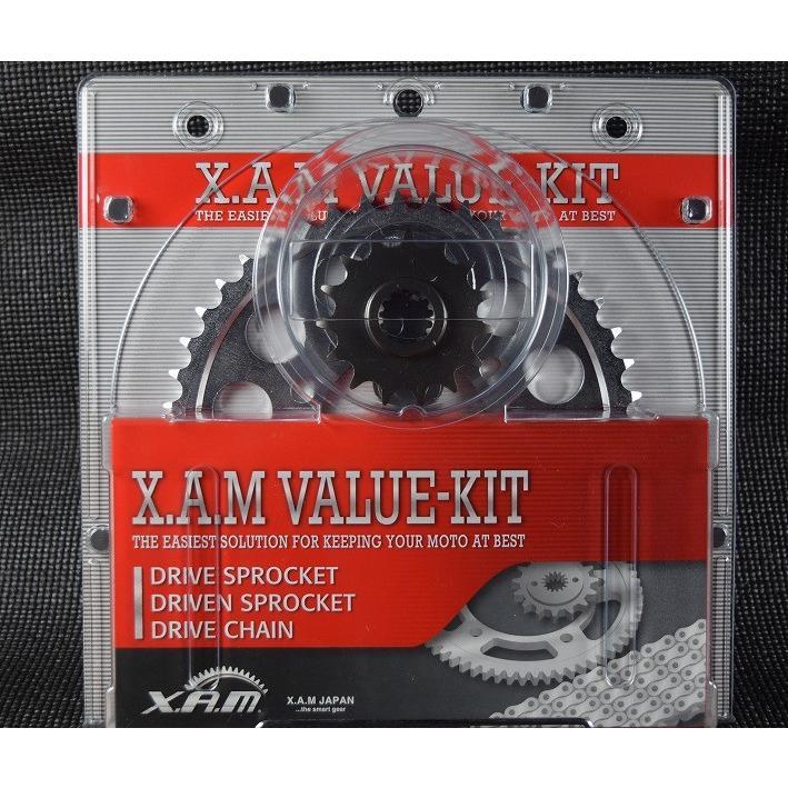 バイク 駆動系 XAM バリューキット GLD YZF-R1 06-07 ザム K-6227G 取寄品