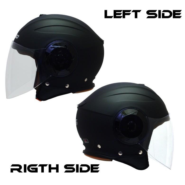 バイク用品ジェットヘルメット