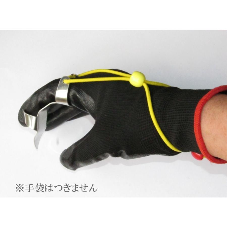 草むしり爪 パワーネイル (指がスコップ代わりに) 送料¥250(5個まで) hatsumei-net 02