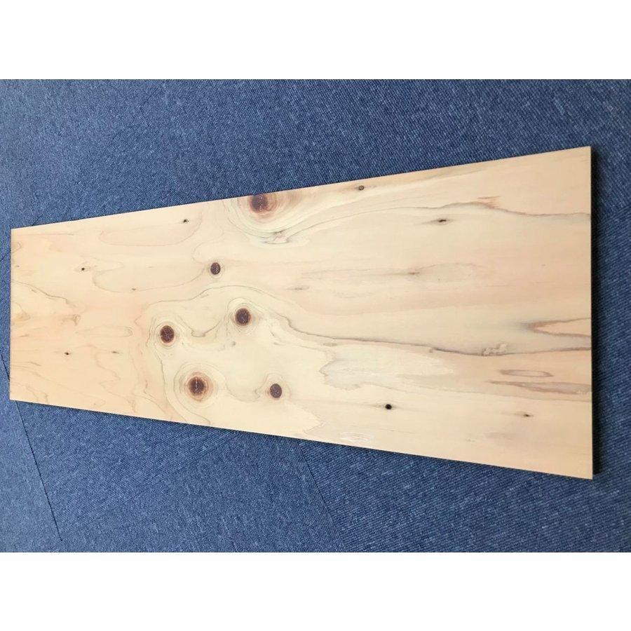 針葉樹合板ヒノキ(片面表面塗装品) 15mm×300mm×900mm 3枚セット hattoitakittoita 02