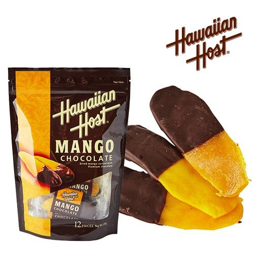 ハワイお土産 ドライマンゴーチョコレート(12袋) ハワイアンホースト hawaiianhost