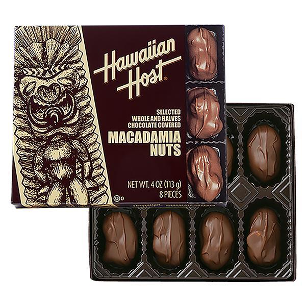 セット割引 ハワイお土産 マカデミアナッツチョコレートTIKI 8粒入6箱セット ハワイアンホースト公式店 hawaiianhost 05