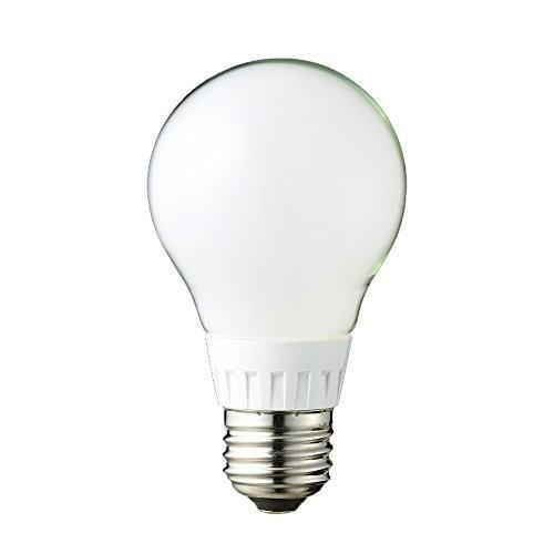 ルミナス LED電球 フロストタイプ 全配向 40W相当 電球色 526lm 口金E26 LDOA40L-GF hayasho