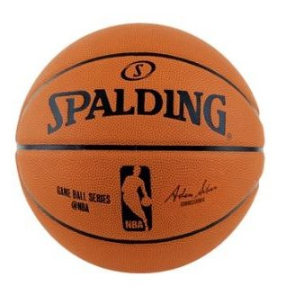 SPALDING スポルディング 国内正規品 ゲームボールレプリカ ラバー 83-042Z 出群 5号球 NBAロゴ入り