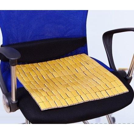 ひ〜んやり 竹マット 蒸れにくい 天然竹の 爆売り 座布団 40×40cm 高い素材