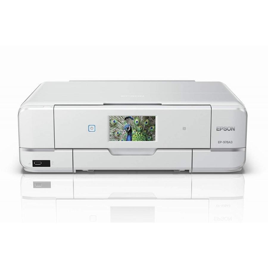 EPSON プリンター インクジェット複合機 Colorio EP-978A3 A3対応 無線LAN Wi-Fi Direct スマートフォンプリント