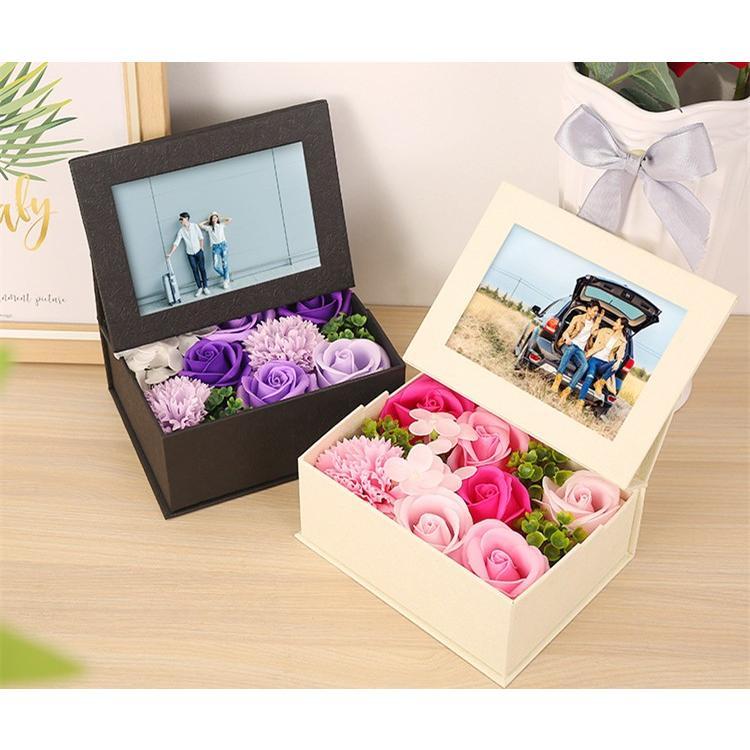 花束 ギフト プリザーブドフラワー ソープフラワー 誕生日プレゼント 女性 母 退職祝い 花 送別会 母の日 10%OFF 贈り物 定年 無料贈呈 購買