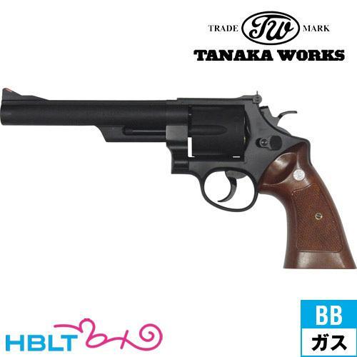 タナカワークス S&W M29 カウンターボアード HW ブラック 6.5インチ ガスガン リボルバー 本体